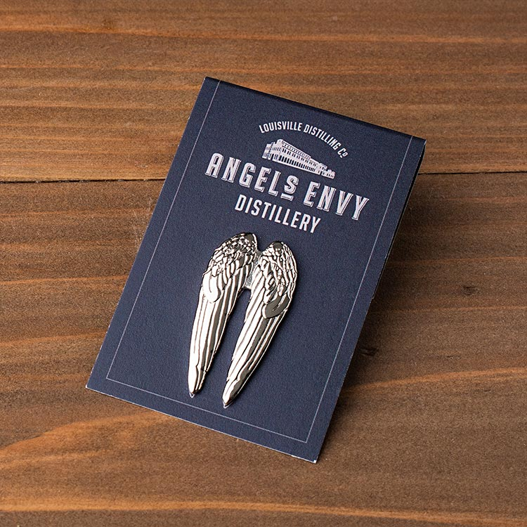 Angel Wing Lapel Pin